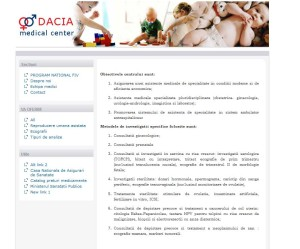 Dacia Medical Center cabinet ginecologic